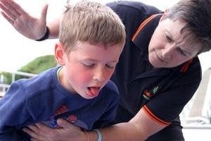 child choking CPR