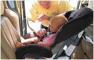 Child safety requires all precautions including seat orientation