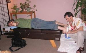 Custom made orthotics to help knee pain